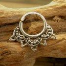 Septum Ring - Septum Jewelry - Septum Piercing - Septum Cuff - Indian Nose Ring -