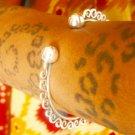 Silver Bracelet - Adjustable Bracelet - Silver Cuff Bracelet - Ethnic Bracelet - Gypsy Bracelet