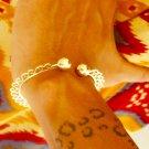 Brass Bracelet - Adjustable Bracelet - Brass Cuff Bracelet - Ethnic Bracelet - Gypsy Bracelet