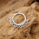 Silver Nose Ring - Silver Nose Hoop - Nose Jewelry - Nostril Hoop - Nose Piercing -