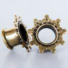 Brass Tunnel - Piercing Tunnel - Ear Tunnel - Brass Plugs - Brass Tunnels - Ear Plugs