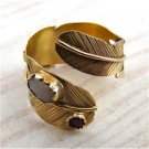 Beautiful 14k Gold Feather Ring - One Of A Kind - Tribal Jewelry - Ethnic Jewelry