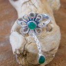 Silver Toe Ring - Adjusable Toe Ring - Gemstone Toe Ring - Foot Accessories - Foot Ring