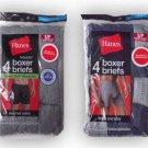 Hanes Men's Boxer Briefs Case Pack 24 packs of 4 Wholesale Bulk Discounted