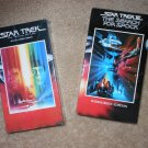 VHS Movies: Star Trek: The Motion Picture; Search For Spock