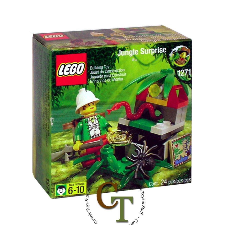 LEGO 1271 Jungle Surprise - Adventurers Jungle