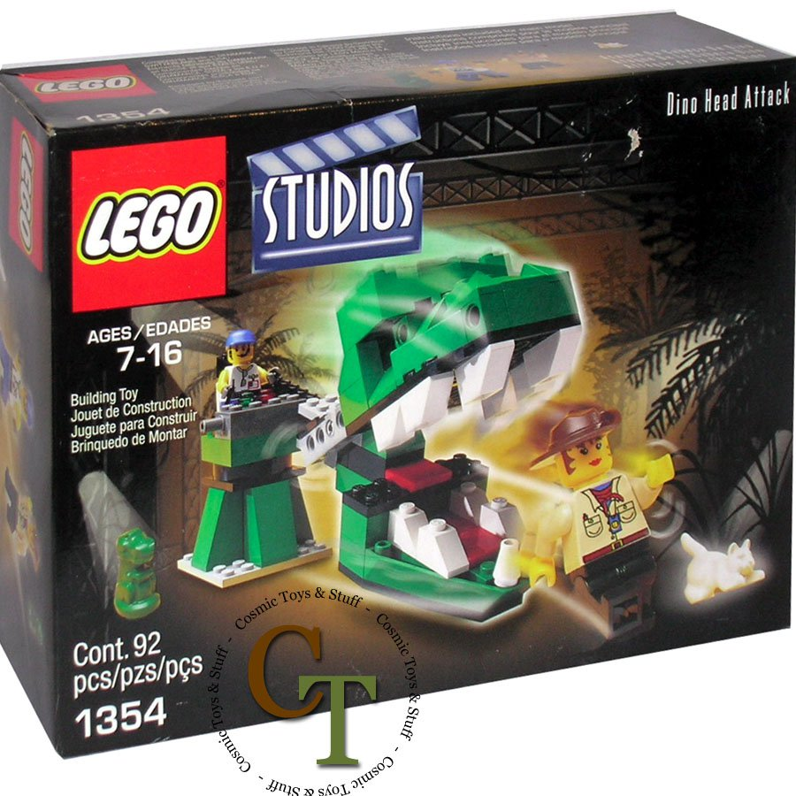 LEGO 1354 Dino Head Attack - Studios
