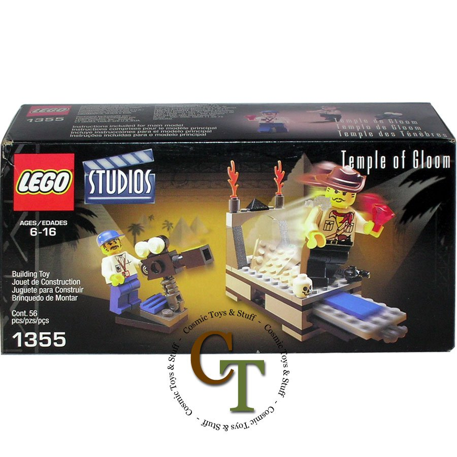 LEGO 1355 Temple of Gloom - Studios