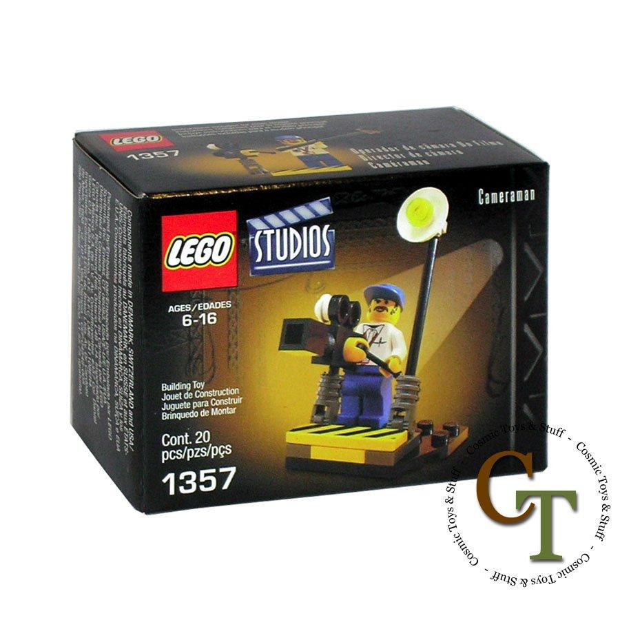 LEGO 1357 Cameraman (better box) - Studios