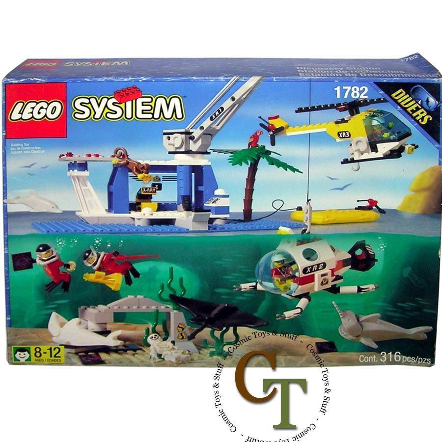 LEGO 1782 Discovery Station - Divers
