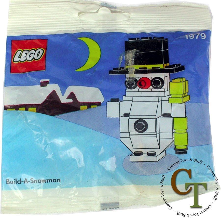 LEGO 1979 Build-a-Snowman - Seasonal