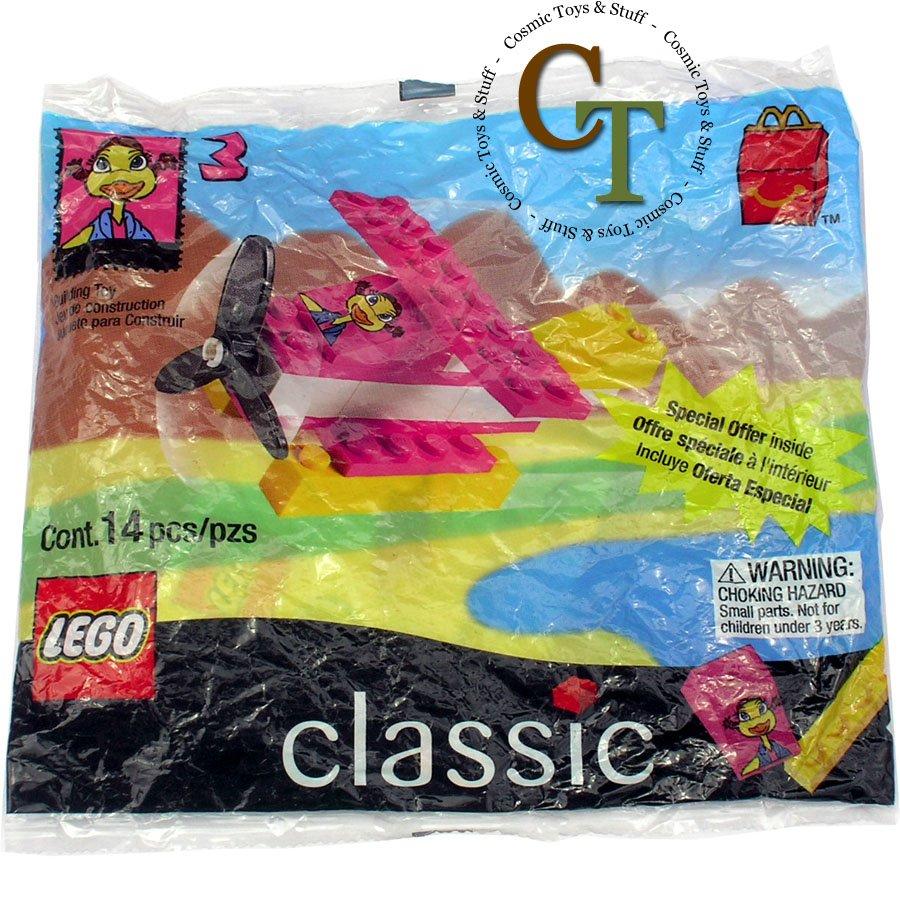 LEGO 2075 McDonalds 1999 #3 promo polybag