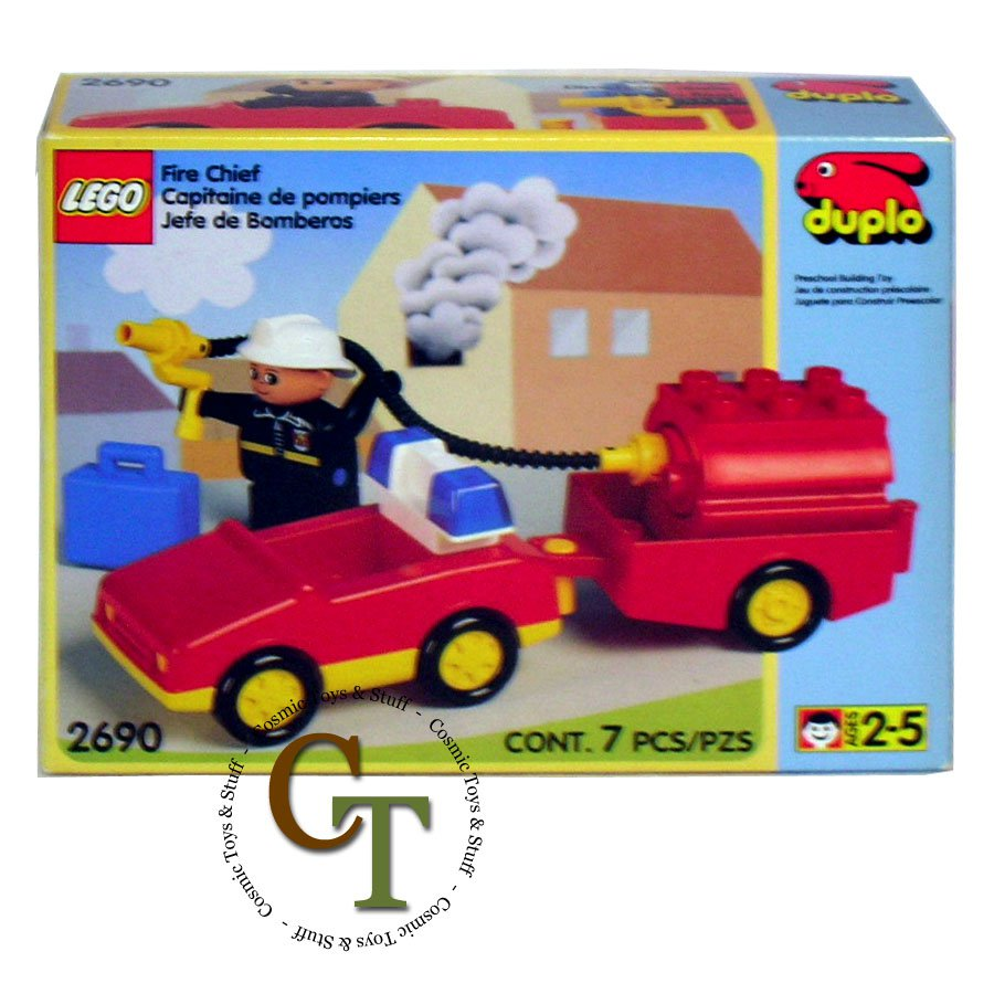 LEGO 2690 Fire Chief - DUPLO