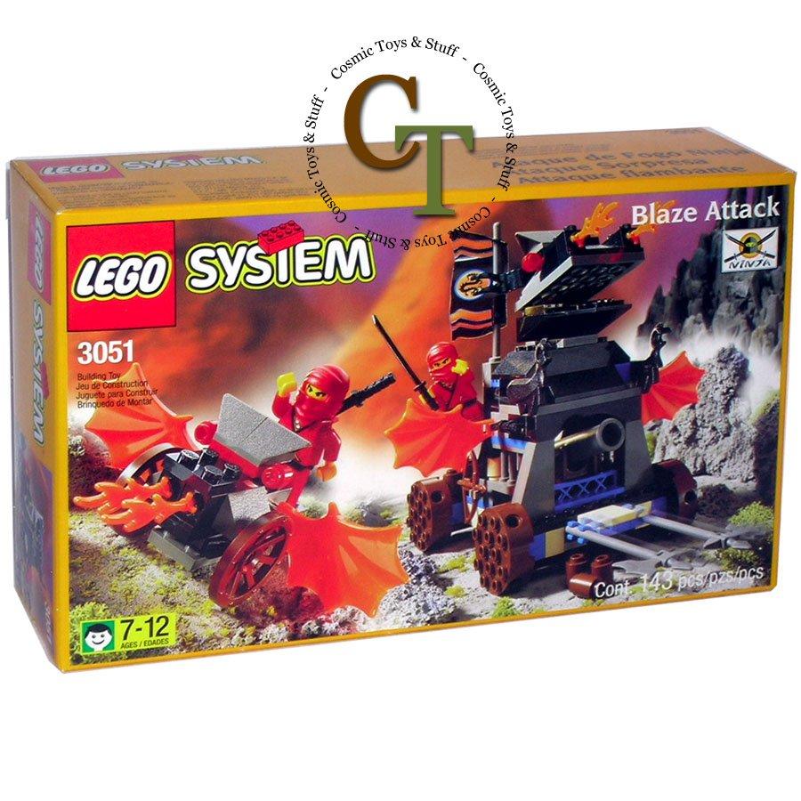 LEGO 3051 Blaze Attack - Ninja