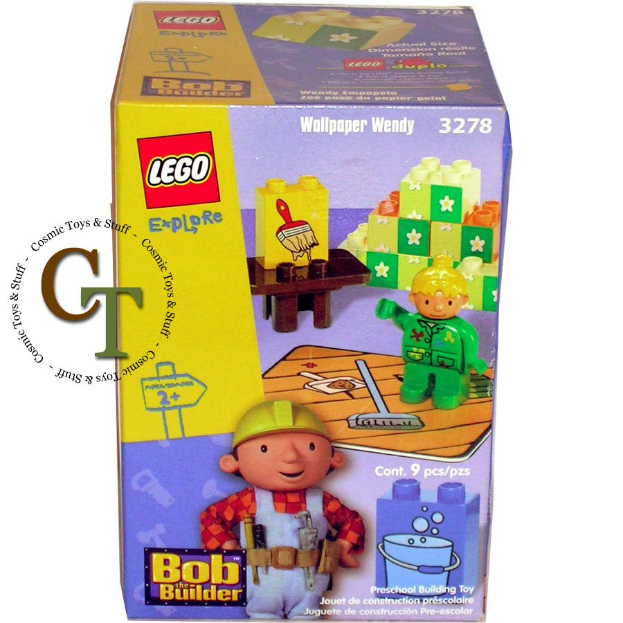 LEGO 3278 Wallpaper Wendy - Bob The Builder