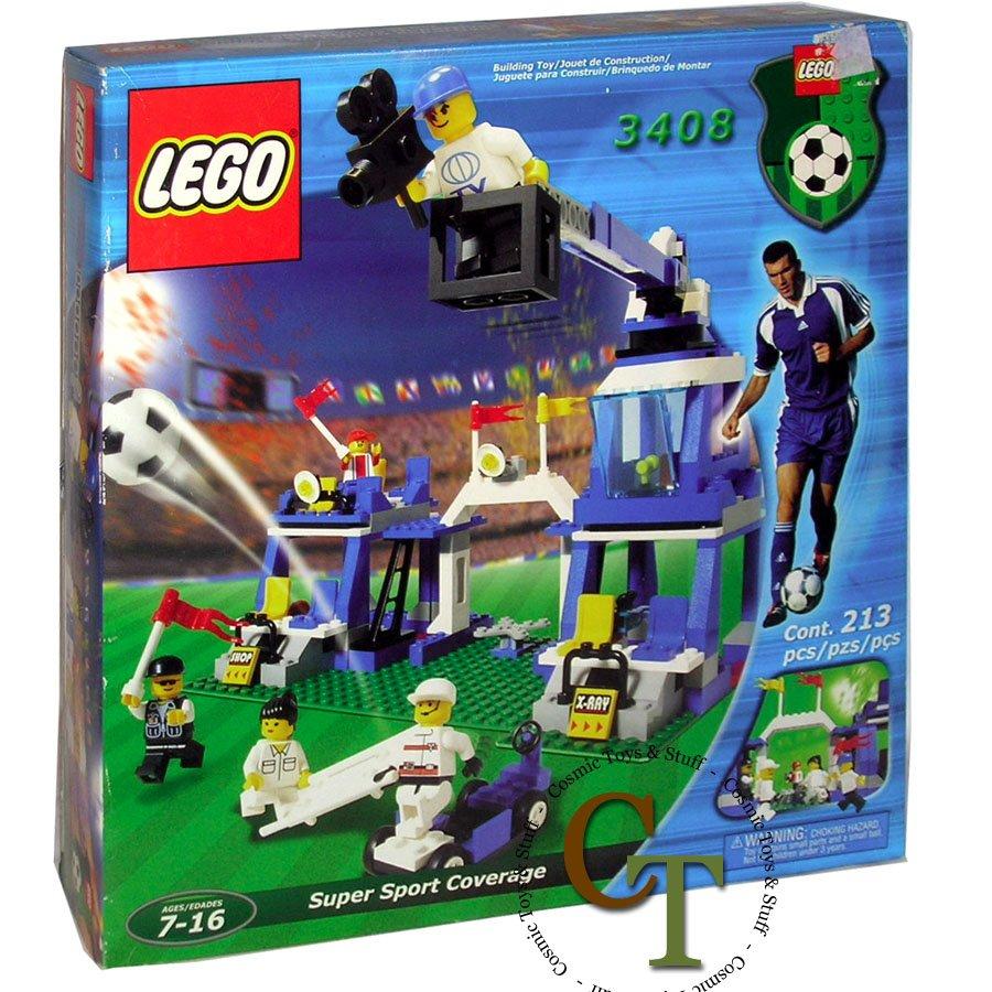 LEGO 3408 Super Sports Coverage - Sports Soccer