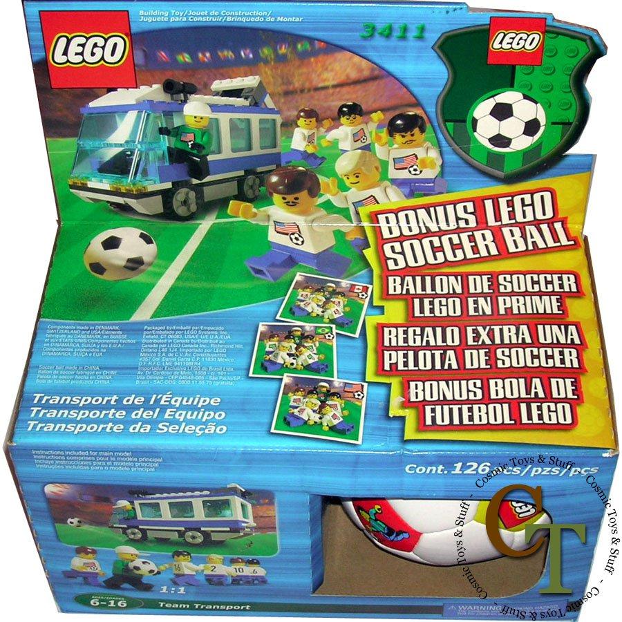 LEGO 3411 Team Transport - Sports Soccer