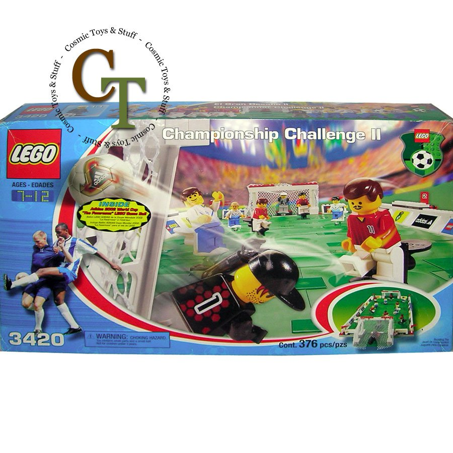 LEGO 3420 Championship Challenge II - Sports Soccer