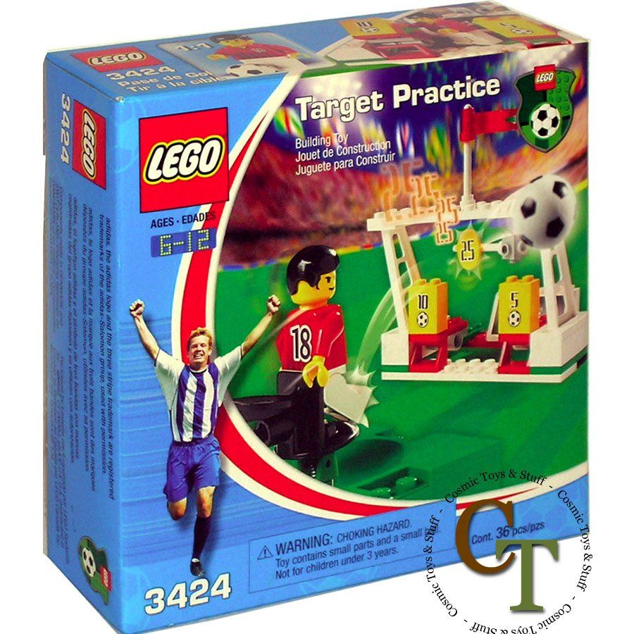 LEGO 3424 Target Practice - Sports Soccer
