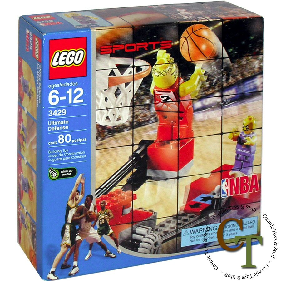 LEGO 3429 Ultimate Defense - Sports Basketball