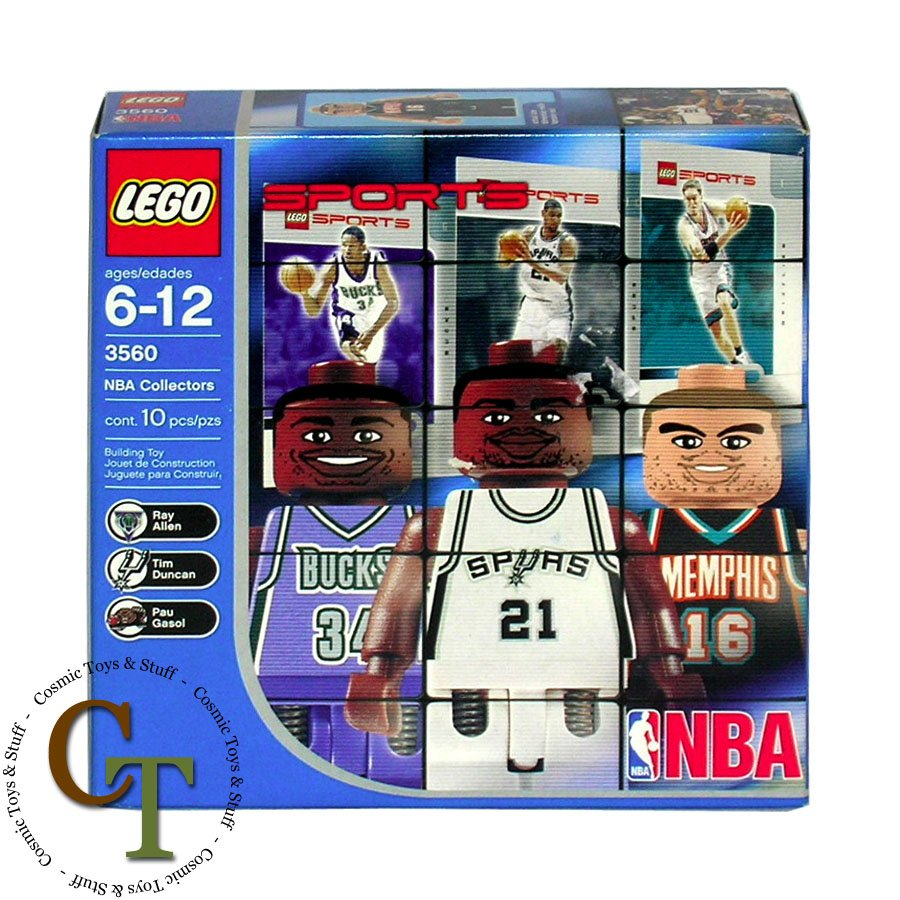 LEGO 3560 NBA Collectors pack #1 (better box) Sports Basketball