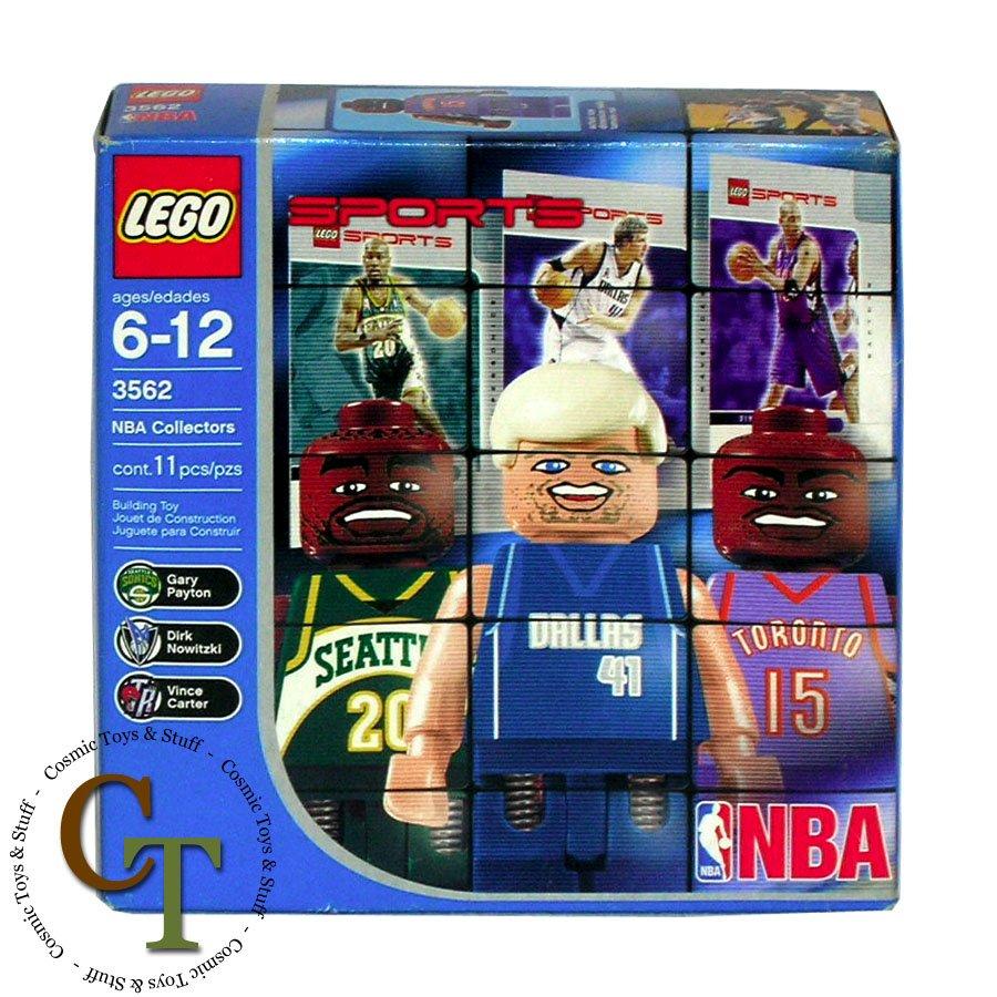 LEGO 3562 NBA Collectors pack #3 (better box) Sports Basketball
