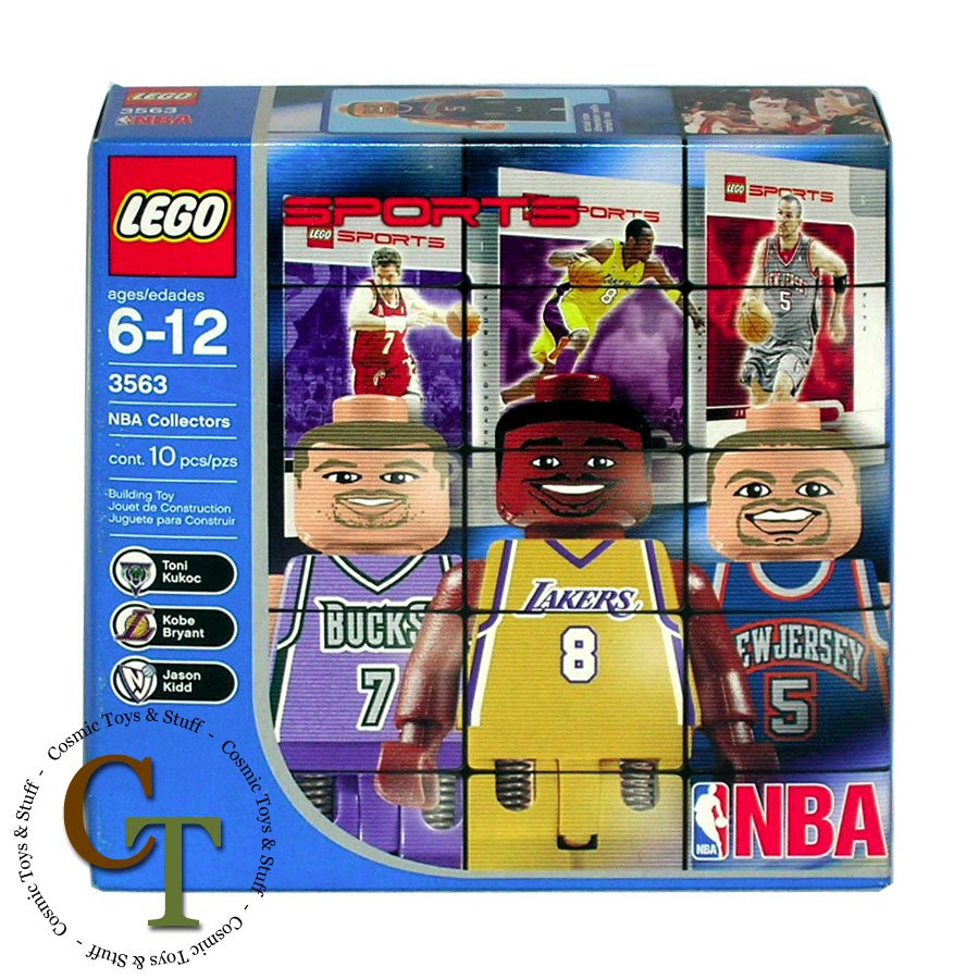 LEGO 3563 NBA Collectors pack #4 Sports Basketball
