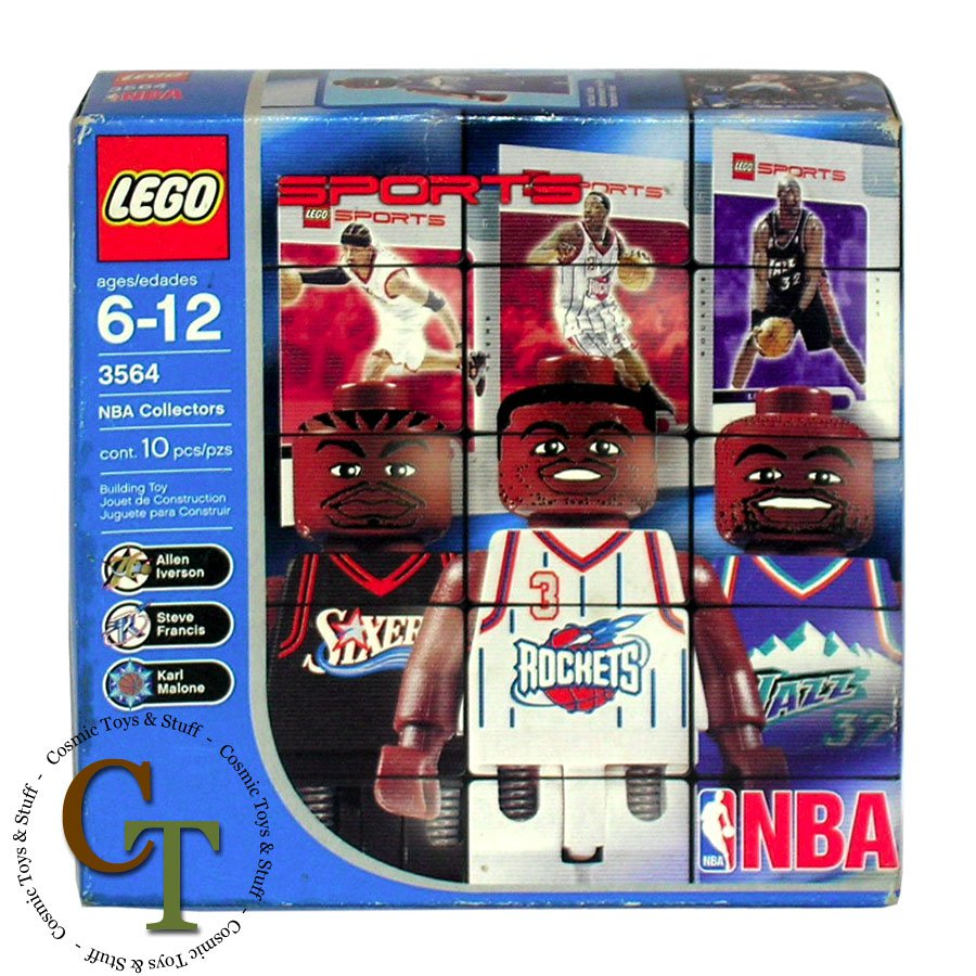 LEGO 3564 NBA Collectors pack #5 (better box) Sports Basketball