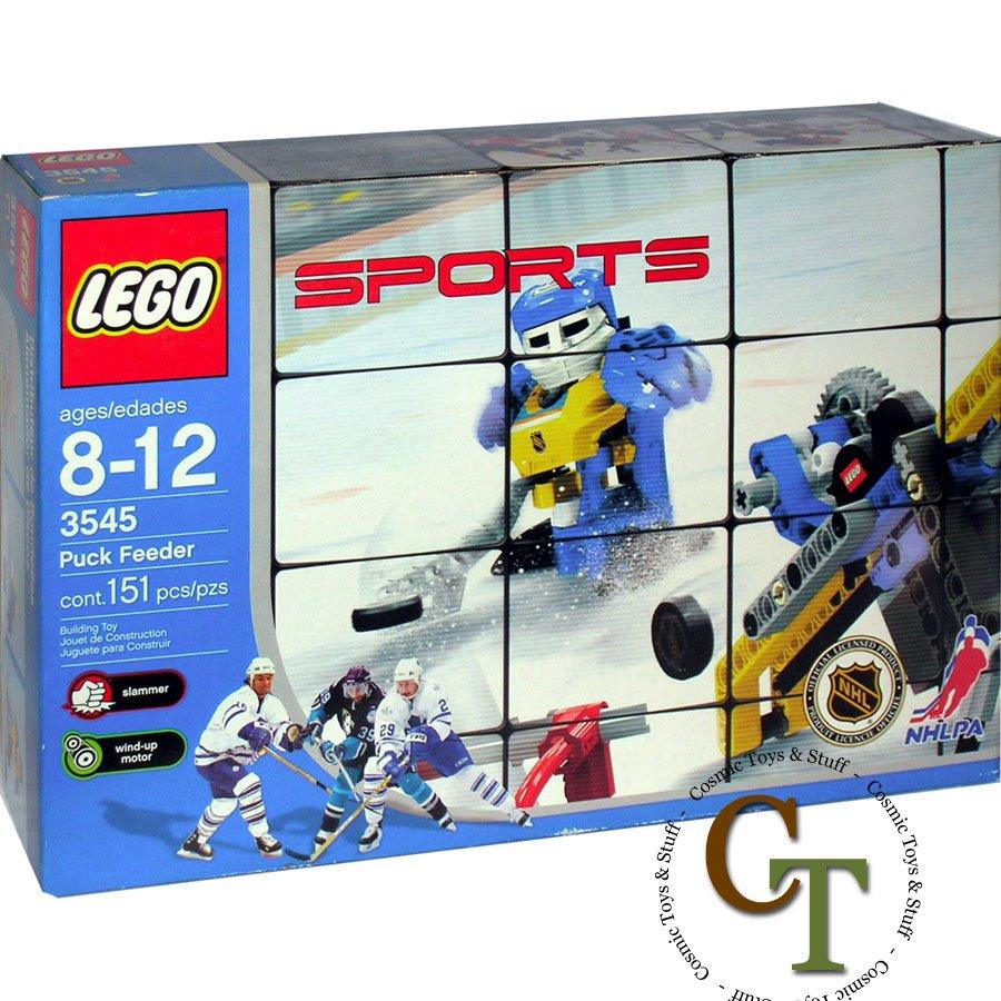 LEGO 3545 Hockey Puck Feeder - Sports Hockey