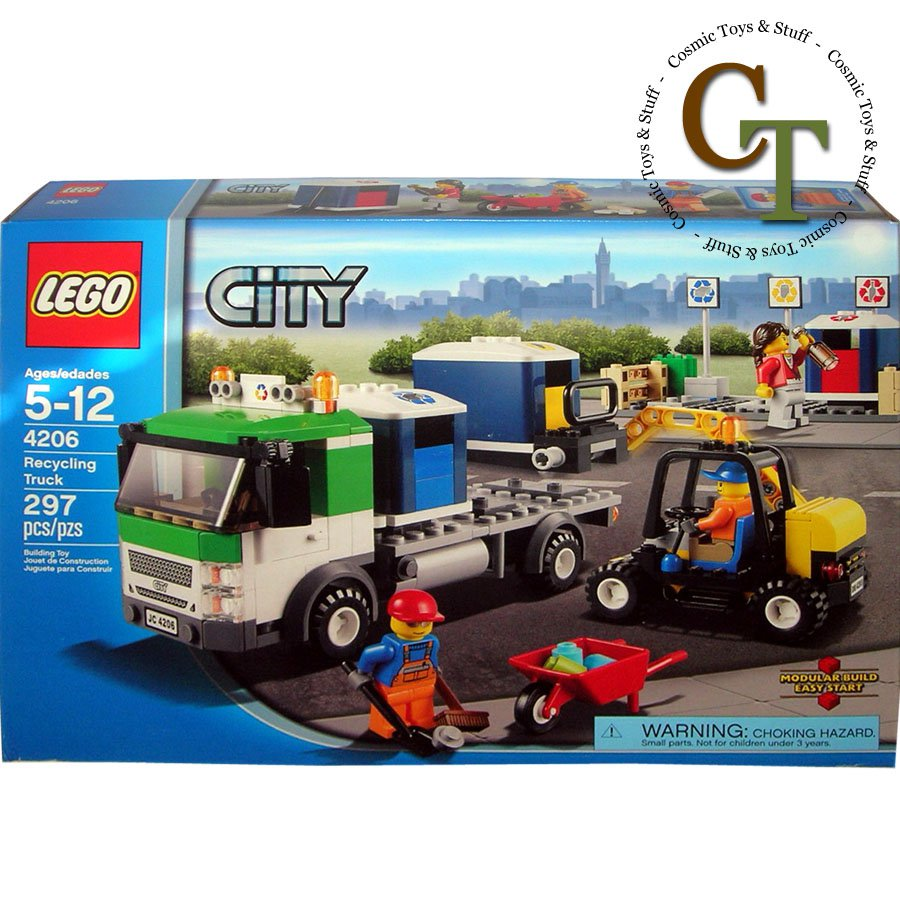 LEGO 4206 Recycling Truck - City