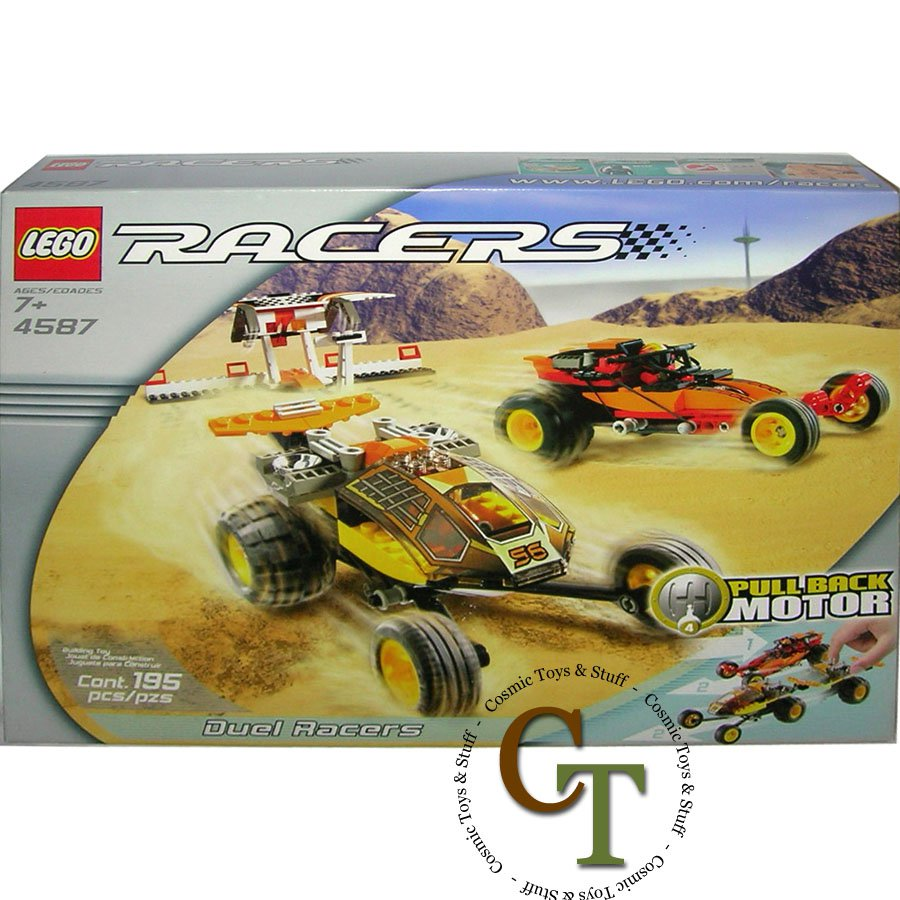 LEGO 4587 Duel Racers - Racers