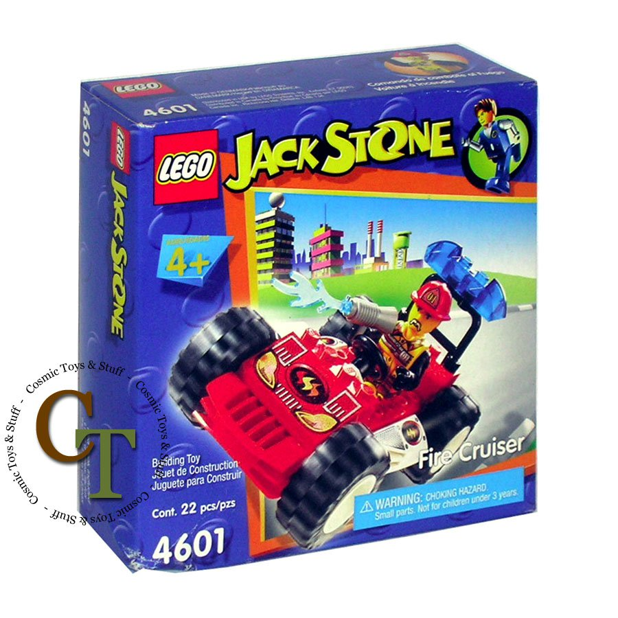 LEGO 4601 Fire Cruiser - Jack Stone