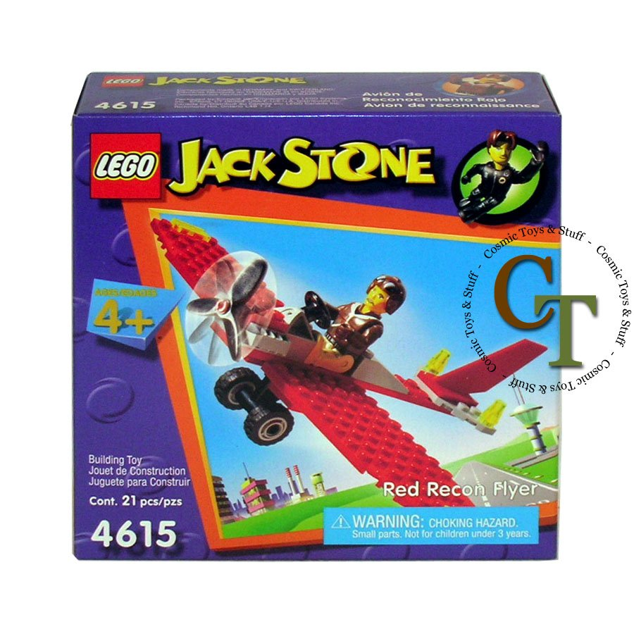LEGO 4615 Red Recon Flyer - Jack Stone