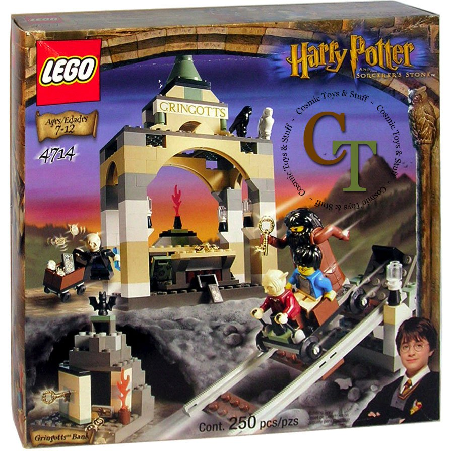 LEGO 4714 Gringott's Bank - Harry Potter