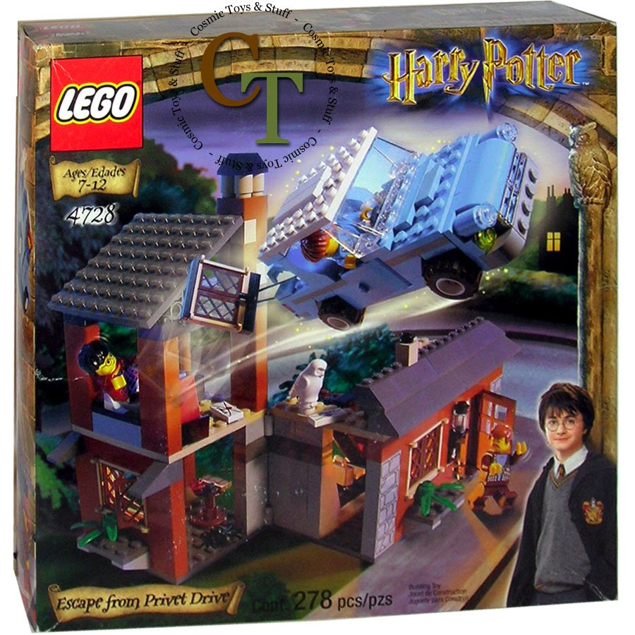 LEGO 4728 Escape from Privet Drive - Harry Potter