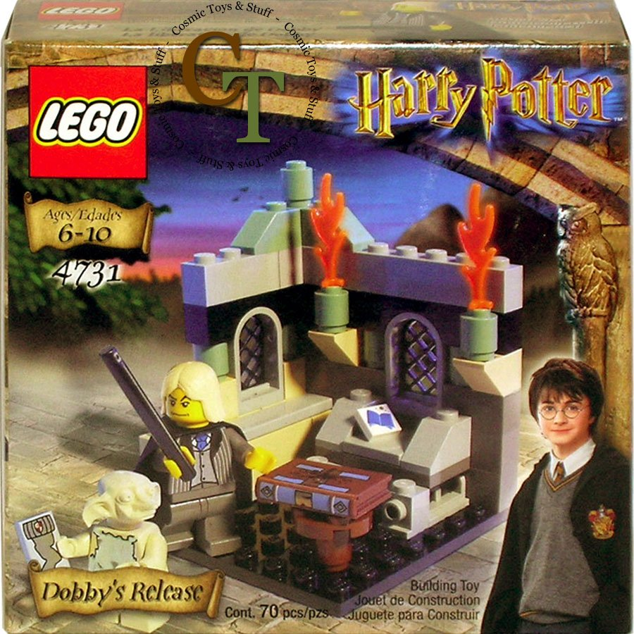 LEGO 4731 Dobbys Release - Harry Potter