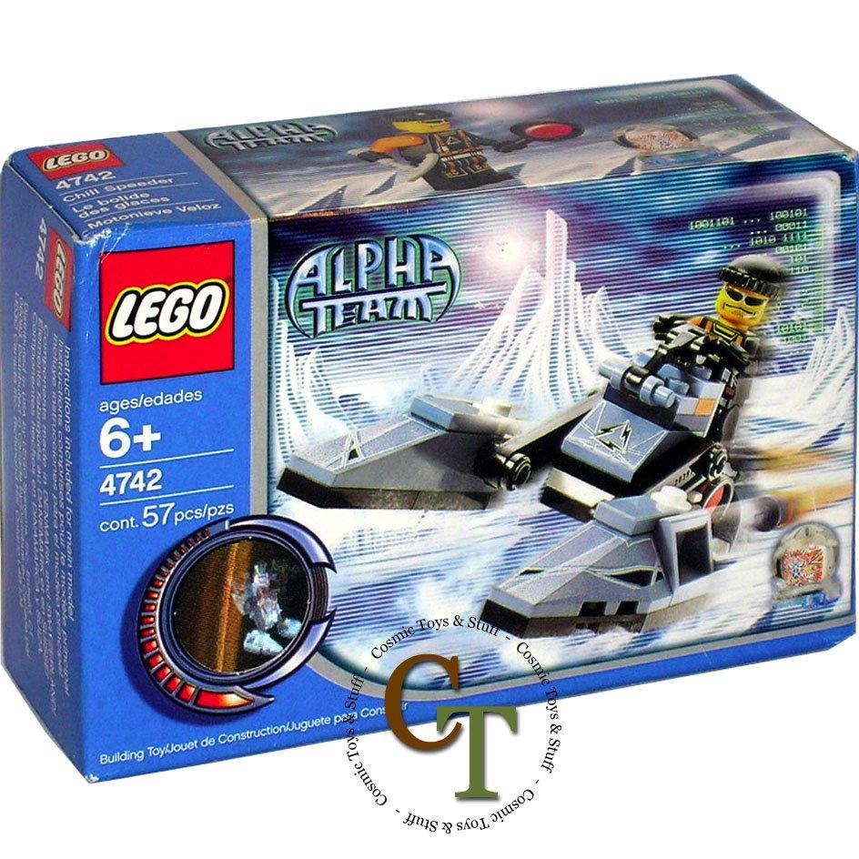 LEGO 4742 Chill Speeder - Alpha Team