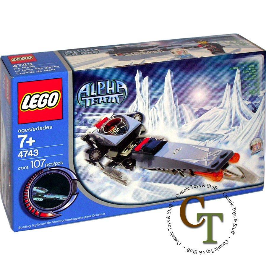LEGO 4743 Ice Blade - Alpha Team