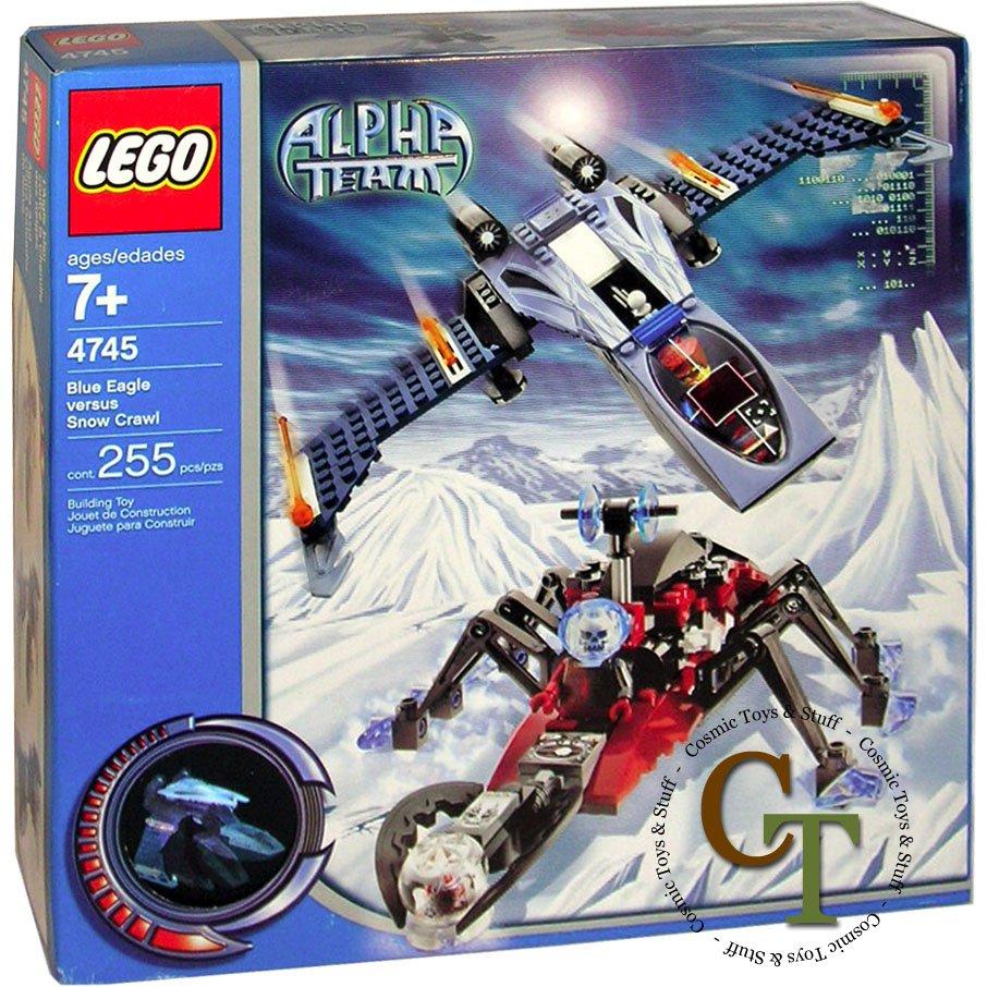LEGO 4745 Blue Eagle vs. Snow Crawler - Alpha Team
