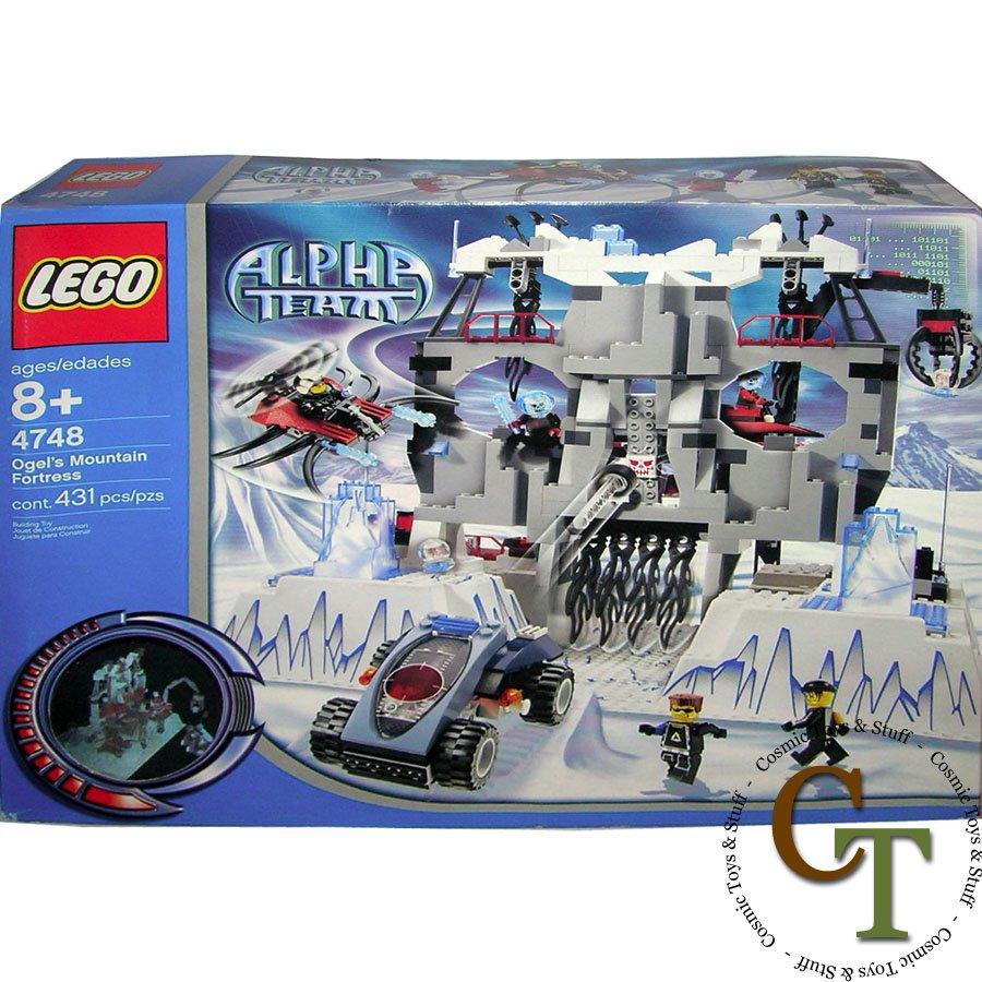 LEGO 4748 Ogel's Mountain Fortress - Alpha Team