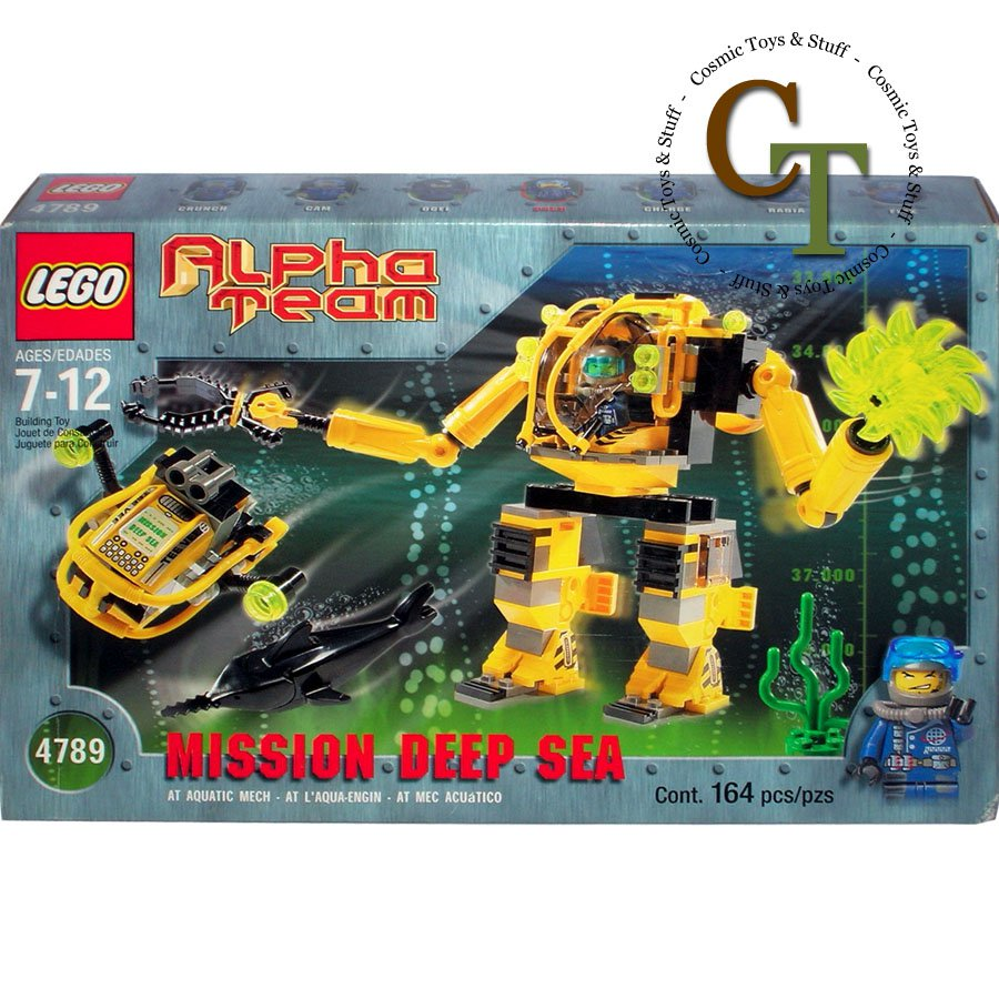 LEGO 4789 Aquatic Mech - Alpha Team