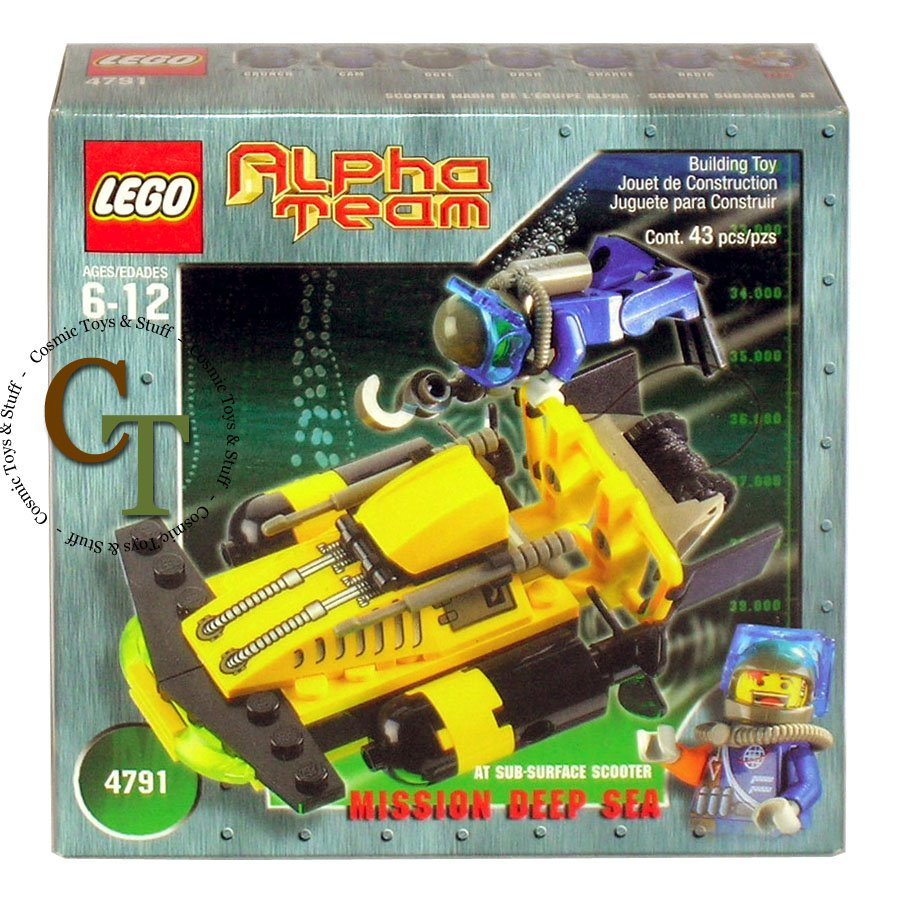 LEGO 4791 Sub-Surface Scooter - Alpha Team