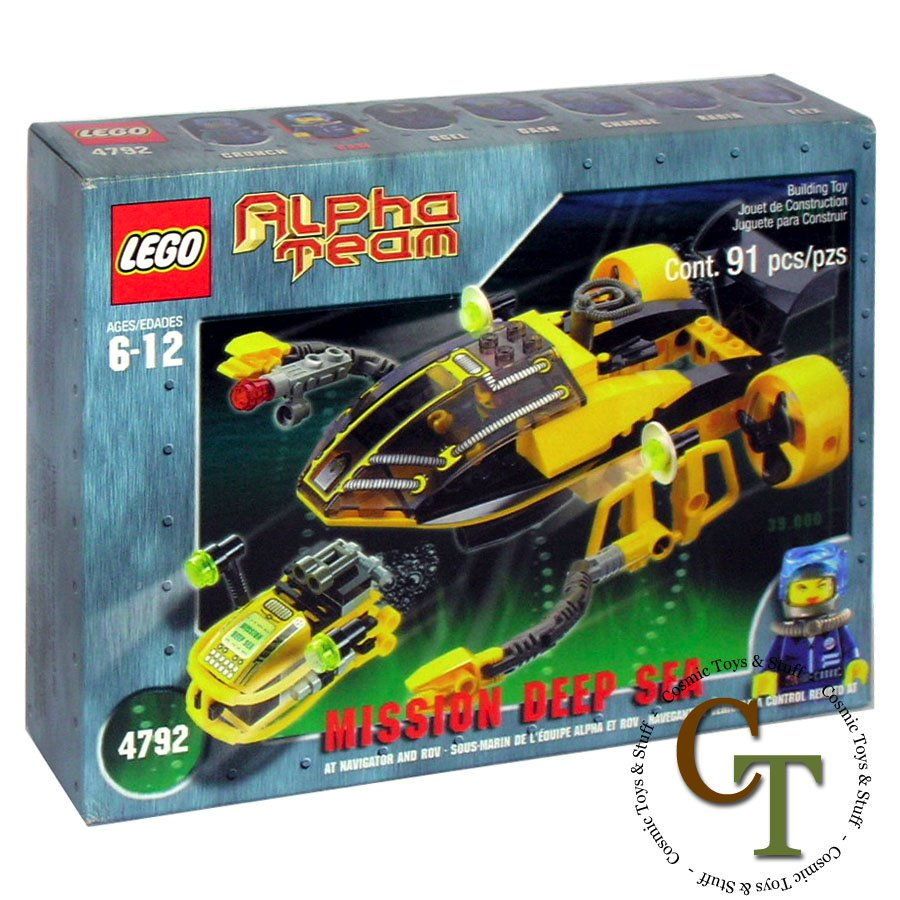 LEGO 4792 Navigator and ROV - Alpha Team