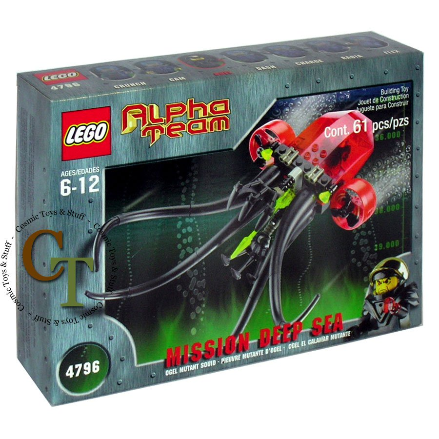 LEGO 4796 Ogel Mutant Squid - Alpha Team