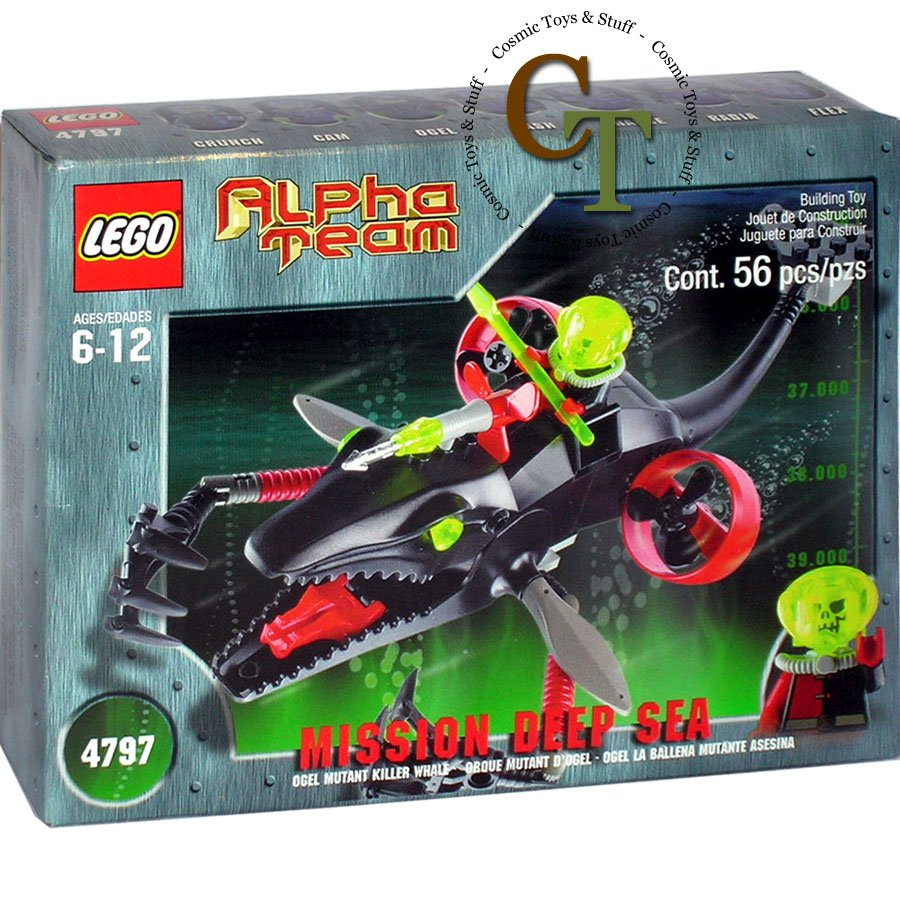 LEGO 4797 Ogel Mutant Killer Whale - Alpha Team