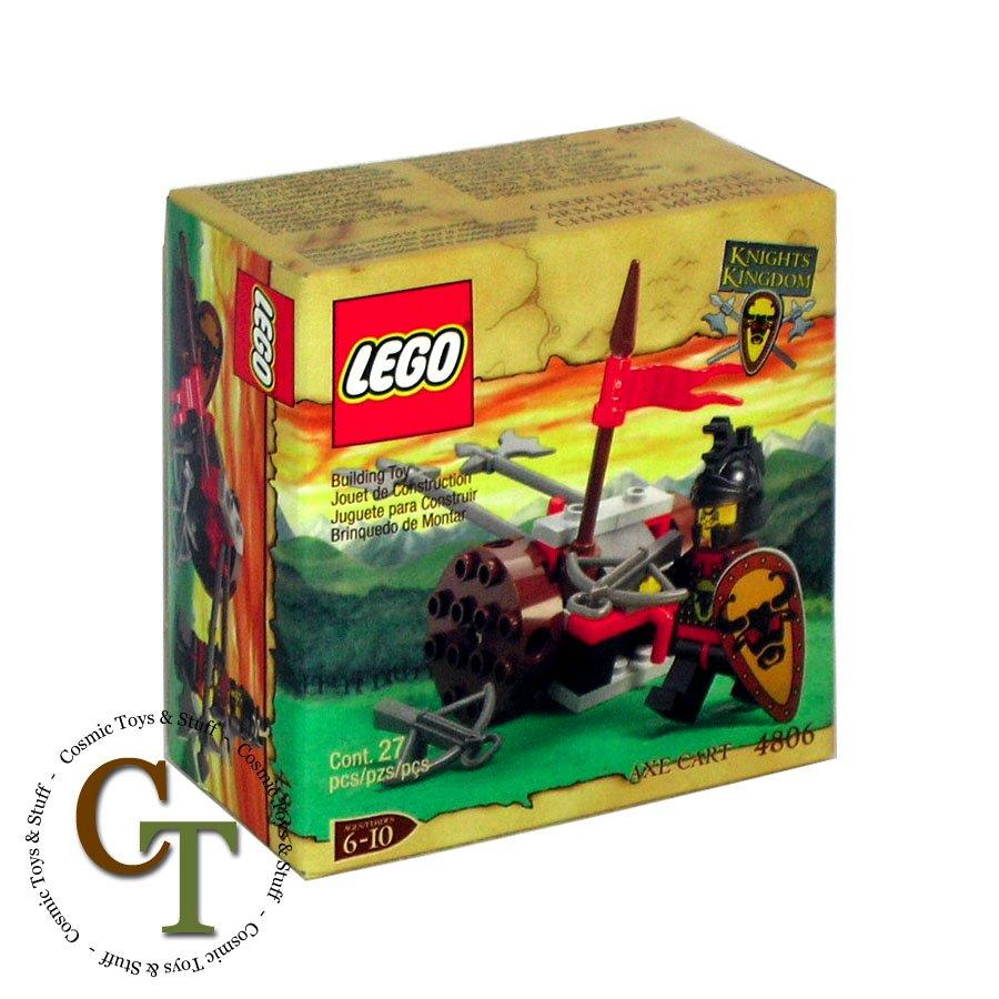 LEGO 4806 Axe Cart - Knights Kingdom