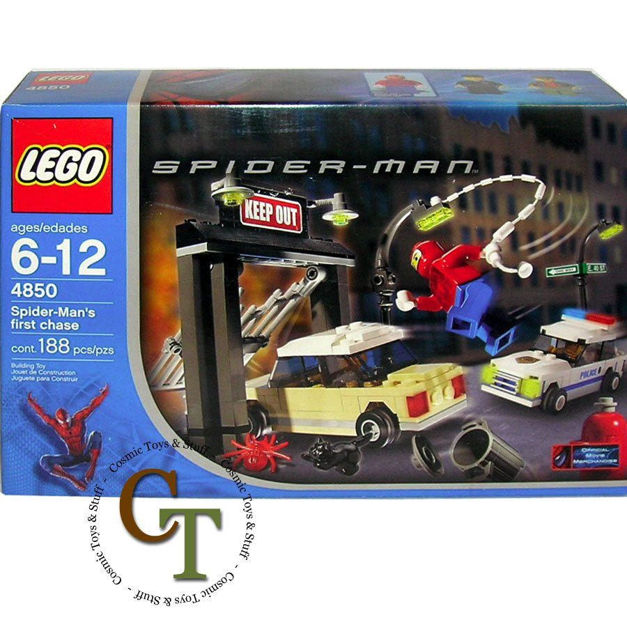 LEGO 4850 Spider-Man's First Chase