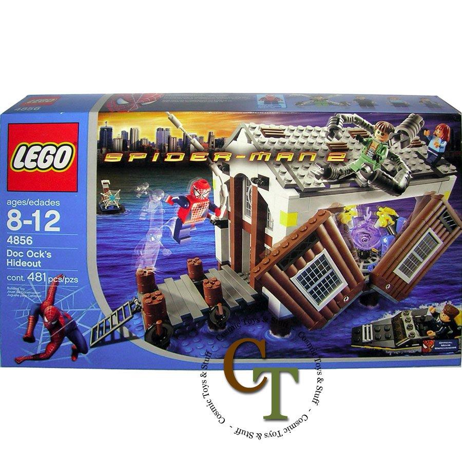LEGO 4856 Doc Ock's Hideout - Spiderman