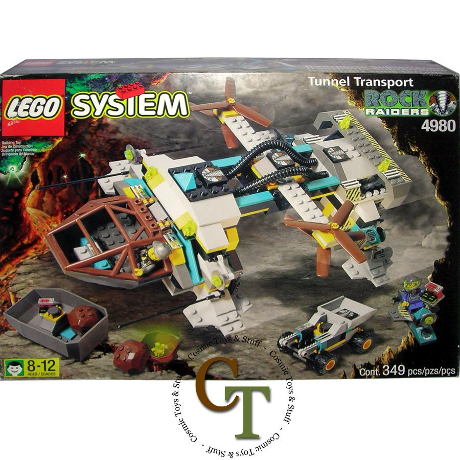 LEGO 4980 Tunnel Transport - Rock Raiders
