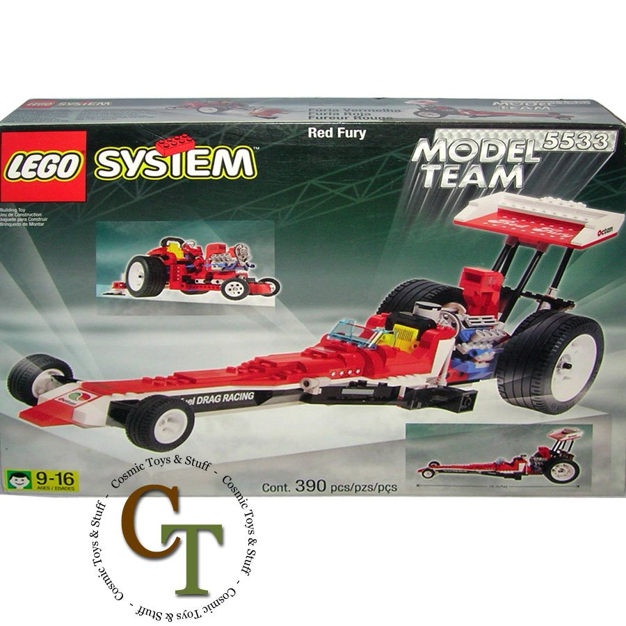 LEGO 5533 Red Fury - Model Team
